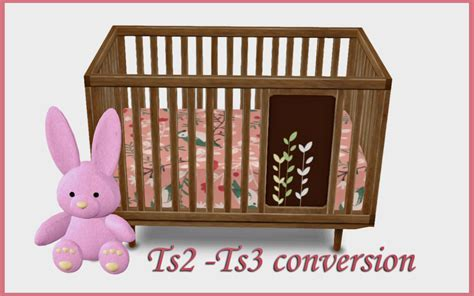 sims 3 toddler bed baby crib conversion by silwermoon teh sims