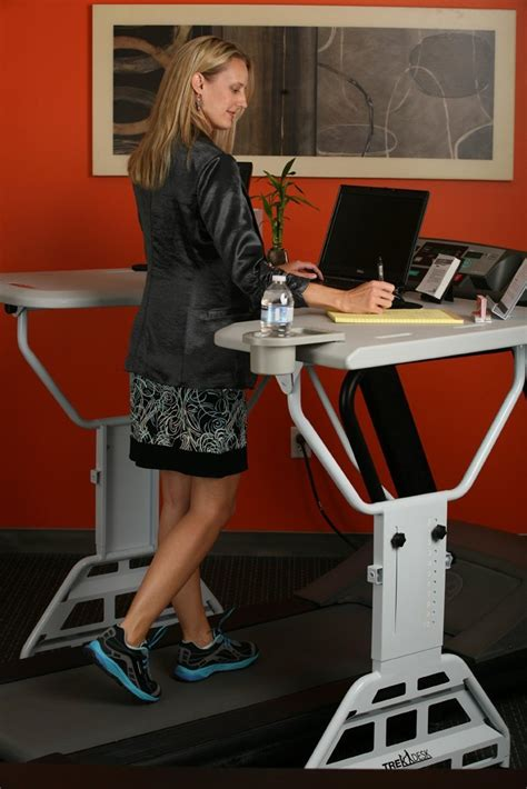 treadmill desk weight loss get fit while you work at your trekdesk treadmill desk