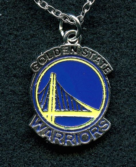 golden state warriors pendant necklace at pristine auction