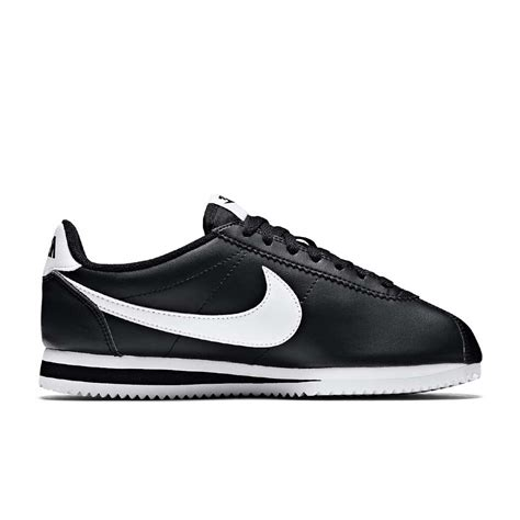 Nike Cortes For 3 nike cortez basic leather black white nkk682b