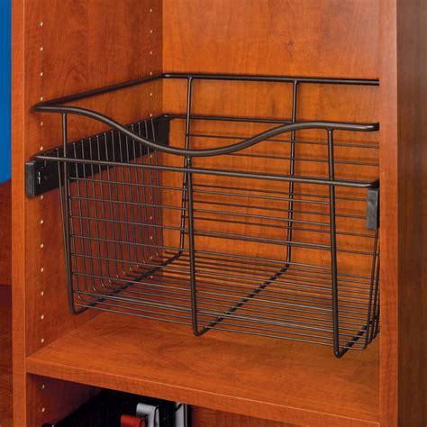 Rev A Shelf Parts by Rev A Shelf Pullout Wire Basket 24 Quot W X 14 Quot D X 18 Quot H Cb