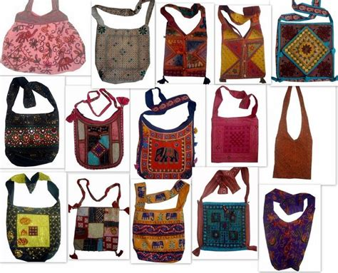 Handmade Fabric Handbags - bohemian handmade fabric handbags purse sling buy