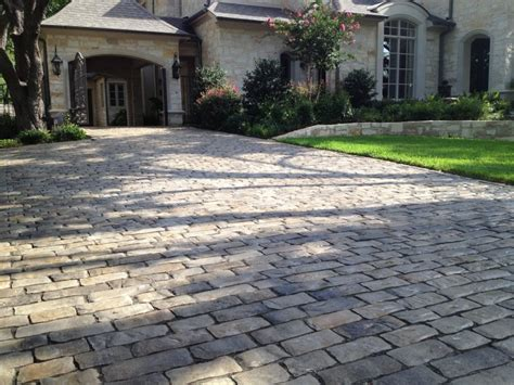 Patio Pavers Dallas Driveways With Pavers Images