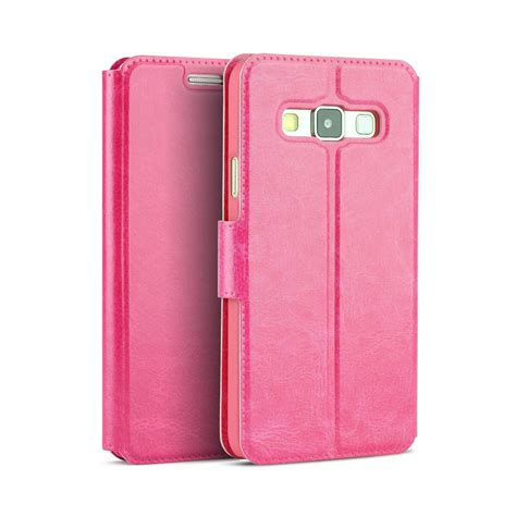 Mofi Leather Samsung Galaxy A3 new slim flip wallet leather phone pouch cover for