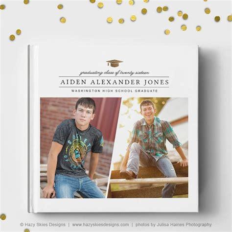 Senior Photo Book Cover Template Senior Album Template Senior Photo Book Template