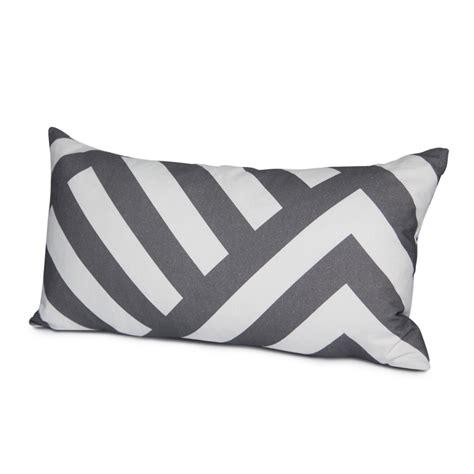 Zara Hobo Chevron By Mealaaa zara throw pillow cover in pewter