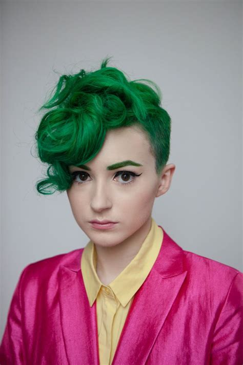 hair green green hairstyles these 23 shades of green hairs you