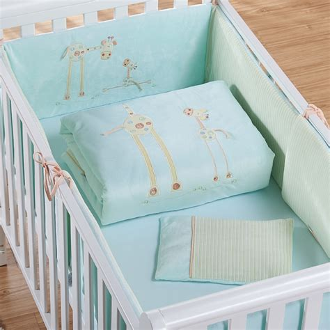 crib comforter measurements aliexpress com buy ttbaby 7pcs cotton baby cot bedding set cartoon crib bedding 4 size duvet