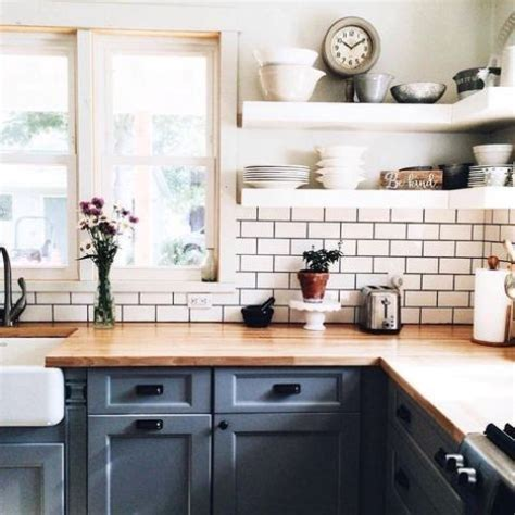 Painting Butcher Block Countertops by 30 Rustic Countertops That Add Coziness To Your Home