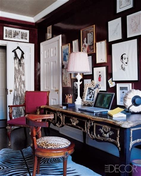 elle decor home office glam office home design inspiration pinterest