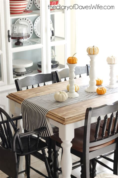 Painted Dining Room Furniture 5 Ways To Redo A Dining Room Table Infarrantly Creative