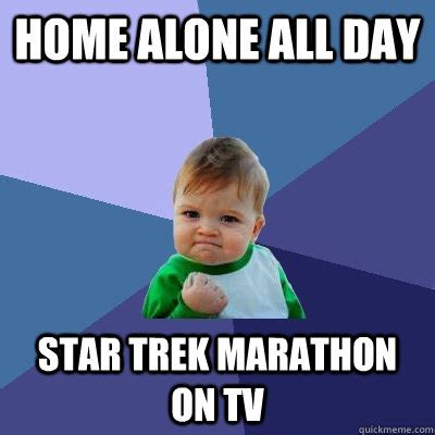 home alone all day trek marathon on tv success kid