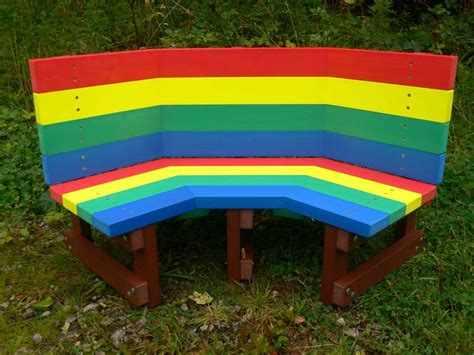 children benches multicoloured children s buddy bench