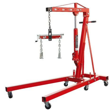 Engine Crane 2 Ton Limited big 2 ton foldable engine crane with load leveler t32002x trf2750 the home depot