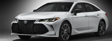 toyota models 2019 2019 toyota avalon new model year features and upgrades