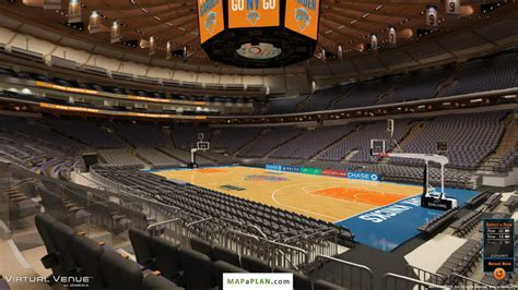 msg section 118 madison square garden seating chart detailed seat