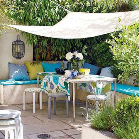 tuin zonnedoek zonnedoek in de tuin interieur inrichting