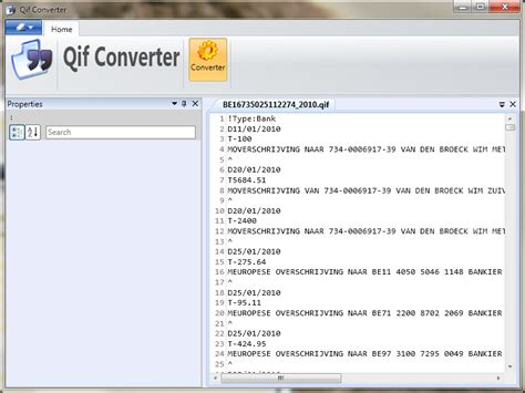 qif format converter free download qxf to qif