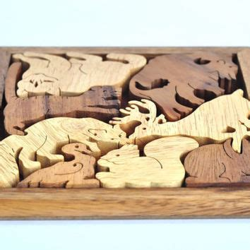 Handmade Wooden Puzzles - best wooden puzzle gifts products on wanelo