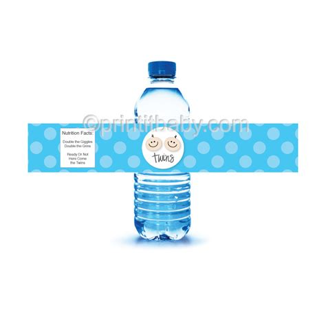 Baby Nutri Blue Mini Water Based Pomade By Oh printable blue polka dot water bottle labels printitbaby print it baby