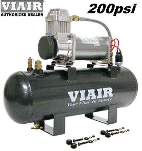 viair 20007 380c air compressor 200psi on board system kit for tools horns ebay