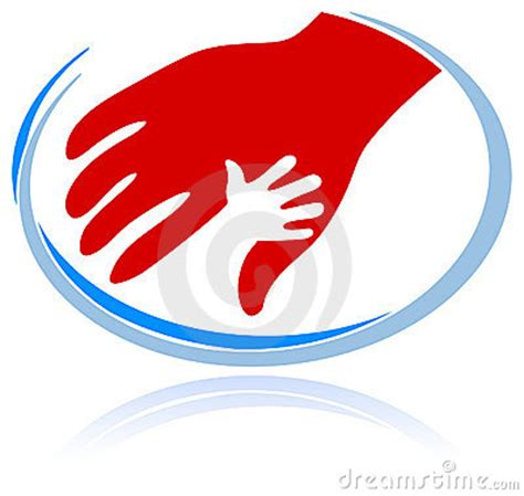 support symbol royalty  stock  image