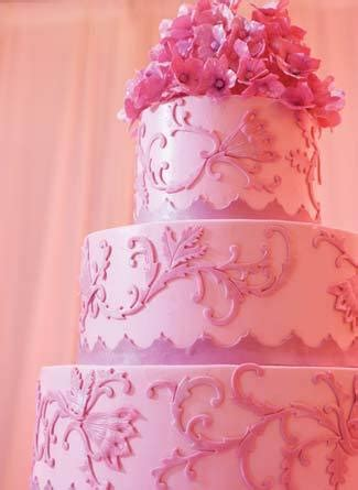Pink Wedding Cake by Pink Wedding Inspiration The Excited Denver