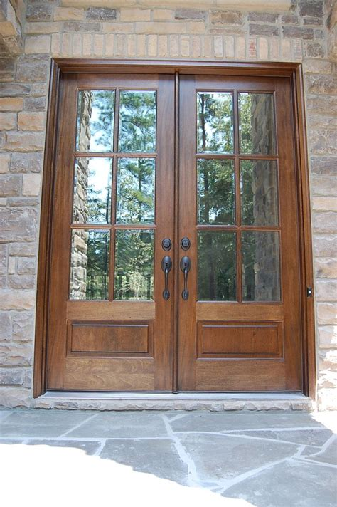 sw chestnut stain  clear beveled glass arh