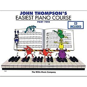 Thompson Easiest Course Part 7 thompson s easiest piano course part 2 book cd wwbw