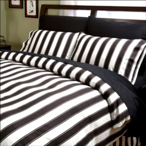 and stripes bed linen home decorating ideas in linen