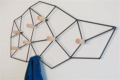 modern wall mounted coat racks which can easily as