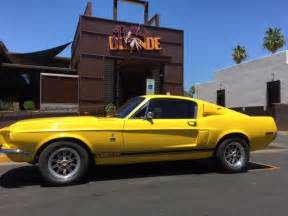 drive a mustang 1968 right drive shelby ford mustang fastback right