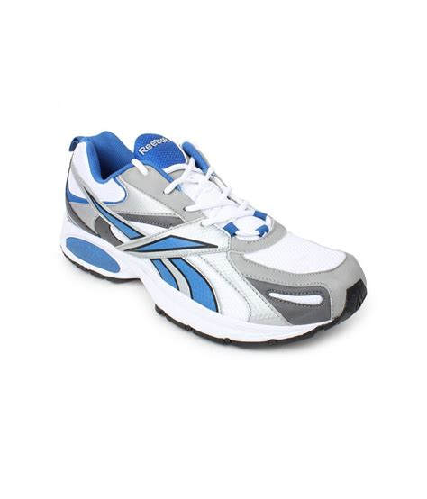 reebok white running sport shoes price in india buy