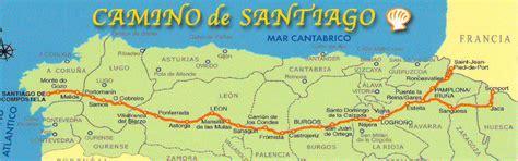 camino way map steps on my pilgrim journey mormon