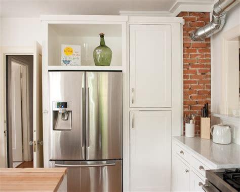 22 best kitchen diy fridge enclosure images on