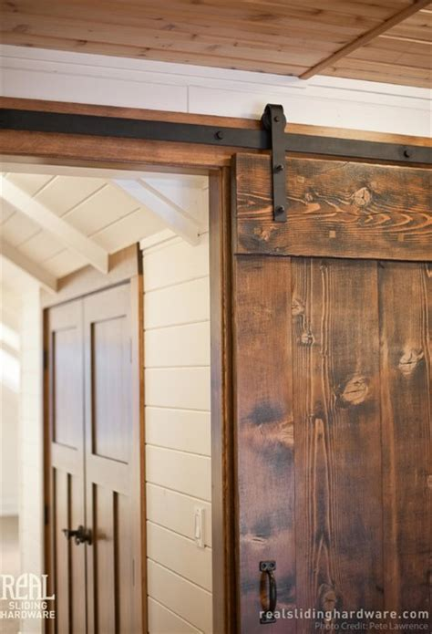 Custom Douglas Fir Salvaged Barn Doors Rustic Hall Salvaged Barn Doors