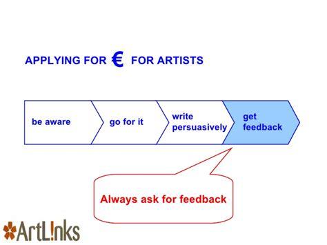 Links To Stalk 27 by Artlinks Applying For Funding