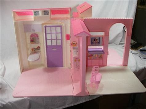 barbie folding doll house vintage barbie folding pretty barbie doll house ebay