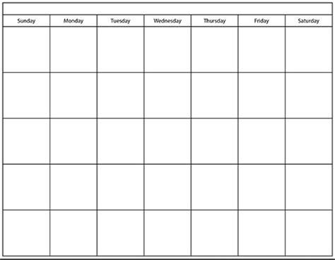 blank printable calendar chart calendar picture templates