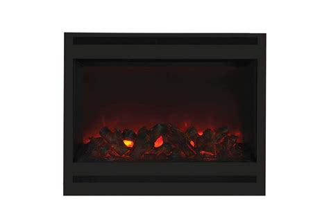 Fireplace Frame Kit by Amantii Zero Clearance Series Built In Electric Fireplace