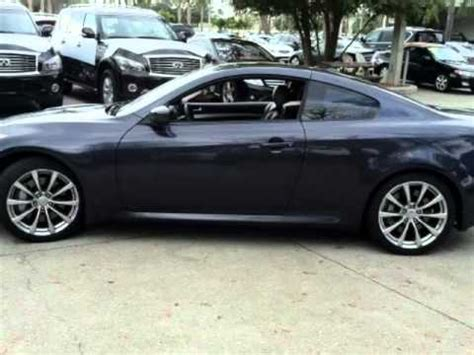 2008 Infiniti G37 Coupe 2dr Sport 6 Speed Manual Trans One