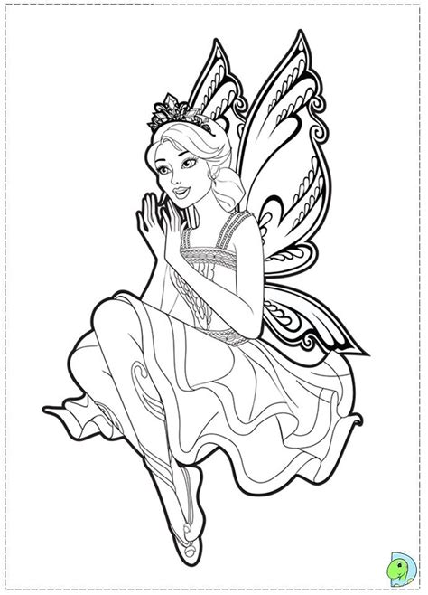 barbie coloring pages doll palace barbie secret door transforming 2 1 fairy doll in the