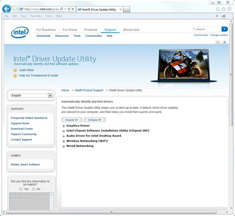 Intel Search The Intel Driver Update Utility An Occasionally Great