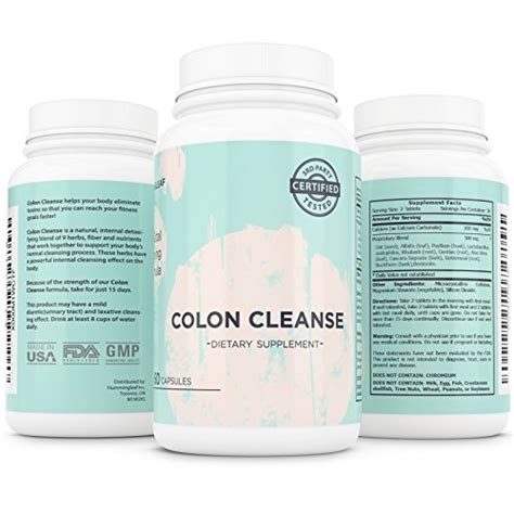 Safe Detox by Hummingleaf S Complete Colon Cleanse System For Safe All
