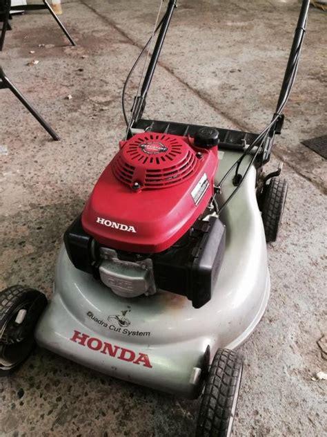 honda gcv easy start quadra cut lawn garden auction  bid