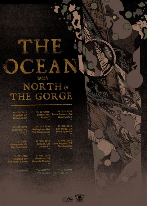 the gauntlet warbringer kick off west coast run with the ocean to kick off us west coast live takeover tour