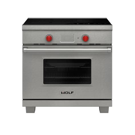 appliances induction ranges wolf appliance inc couples sleek design with powerful performance in new induction range
