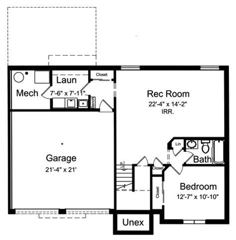 split foyer house plans split foyer plan 1459 square feet