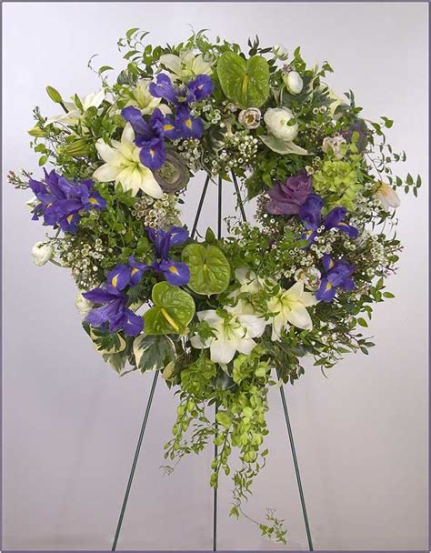 Flowers Arrangements For Funerals - sympathy flower arrangements by yukiko