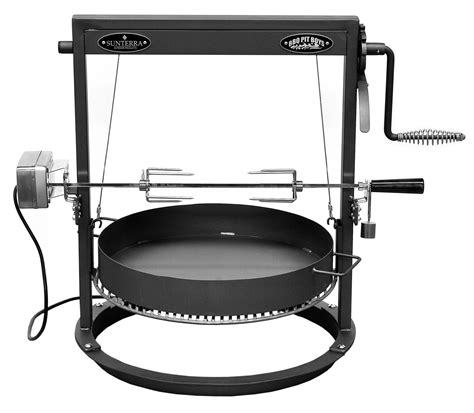 Backyard Grill Electric Rotisserie Santa Corona Rd With Electric Rotisserie Kit Scwbrd22erk
